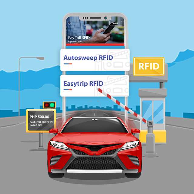 Instant Reloading of Autosweep and Easytrip Toll RFIDs is Now Available via PSBank Mobile!