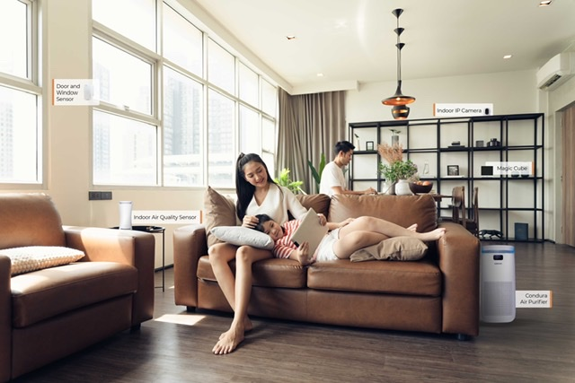 CNX FOR HOME: SIMPLIFY YOUR LIFE THROUGH TECHNOLOGY. DOING MORE BY WORRYING LESS.