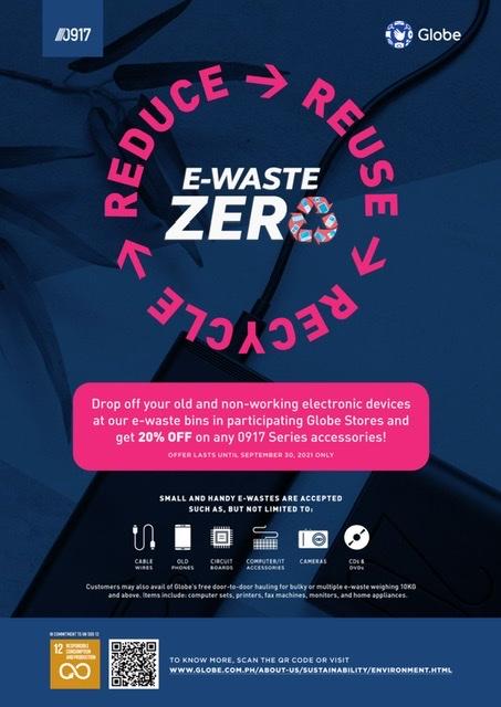 Participate in e-Waste Zero, get 20% off on 0917 apparel