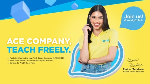 51Talk introduces Maine Mendoza as new brand ambassador in its mid-year press conference