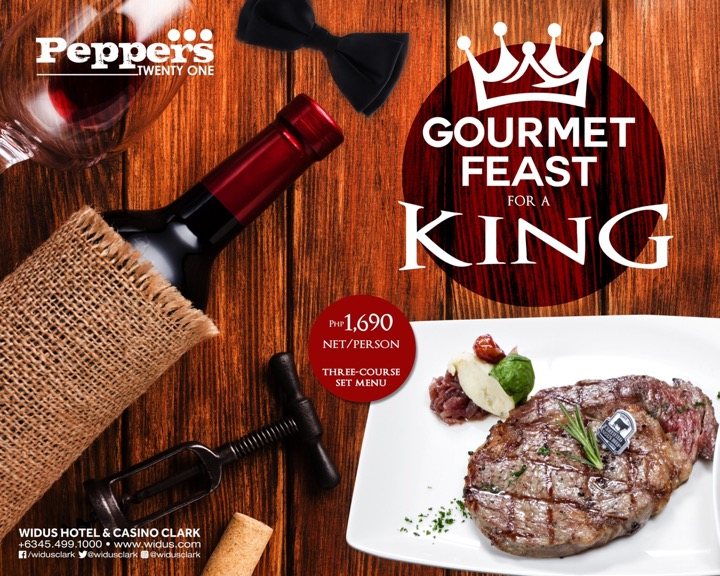 FATHER'S DAY FINE DINING AT PEPPERS TWENTY-ONE CLARK