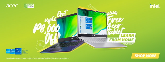 KathNiel campaigns for Acer's Learn from Home Program, get up to Php8,000 off laptops and more
