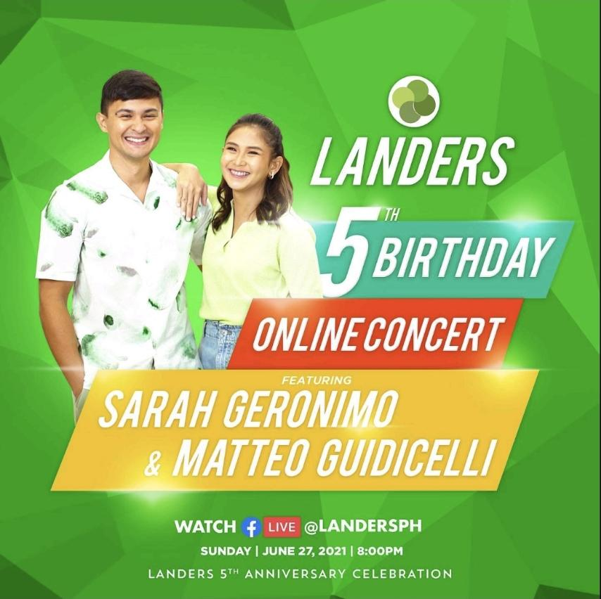 Landers concludes 5th Anniversary Celebration with Sarah and Matteo Concert