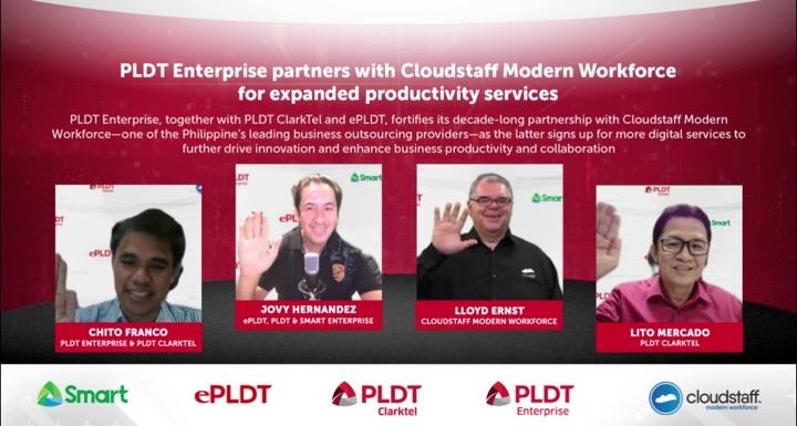 PLDT Enterprise, Cloudstaff cement decade-long partnership with expanded productivity services