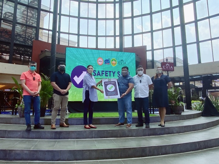 VISTA MALLS AND STARMALLS NATIONWIDE EARN SAFETY SEAL CERTIFICATION