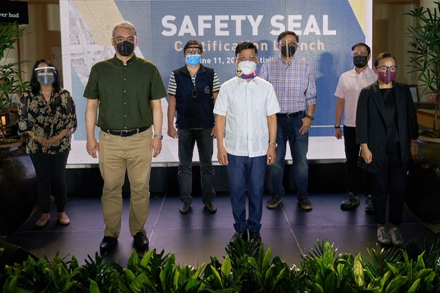 Ayala Malls Receives Safety Seal Certification for Adherence to Public Health Standards