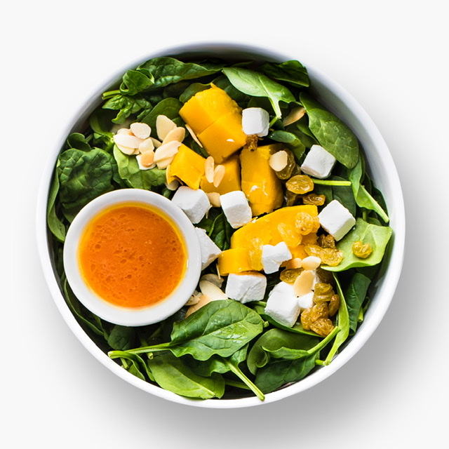 """HAVE A POWER SALAD WITH SALADSTOP'S IRON """"WO""""-MAN"""