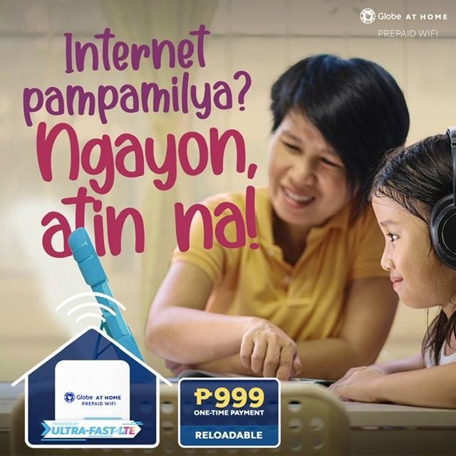 Malayo ang mararating ng madiskarteng Pinoy families with Globe At Home's affordable Prepaid WiFi