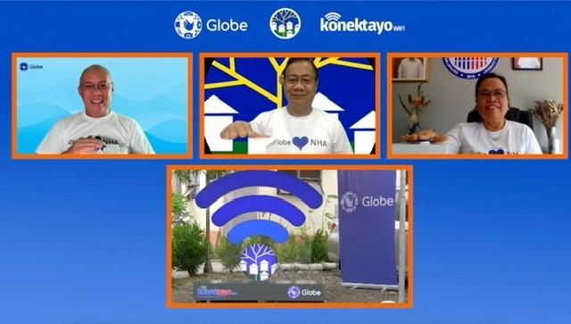 40,000 housing beneficiaries nationwide to benefit thru Globe KonekTayo WiFi and NHA partnership