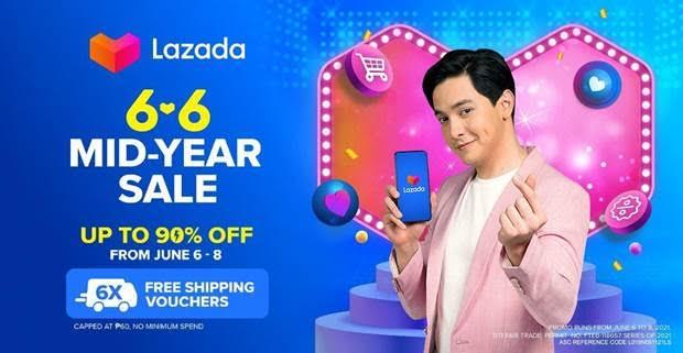 Lazada Philippines celebrates the mid-year with newest brand ambassador Alden Richards
