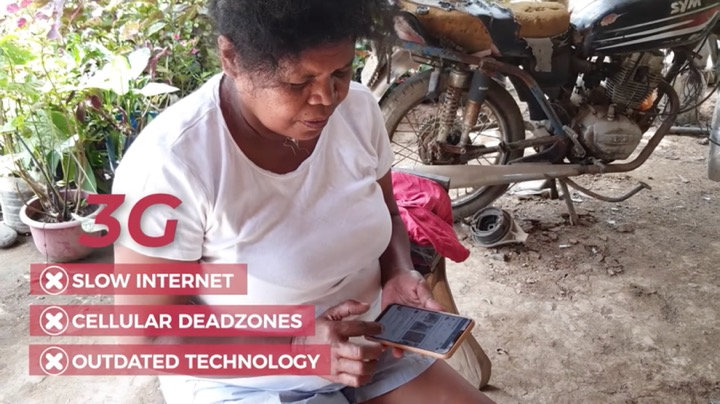 4G helps ease the online learning of the Aetas of Bataan