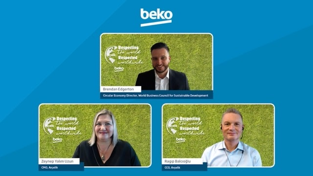 Beko's innovative new products use recycled materials, bio-composites and detergent saving technologies