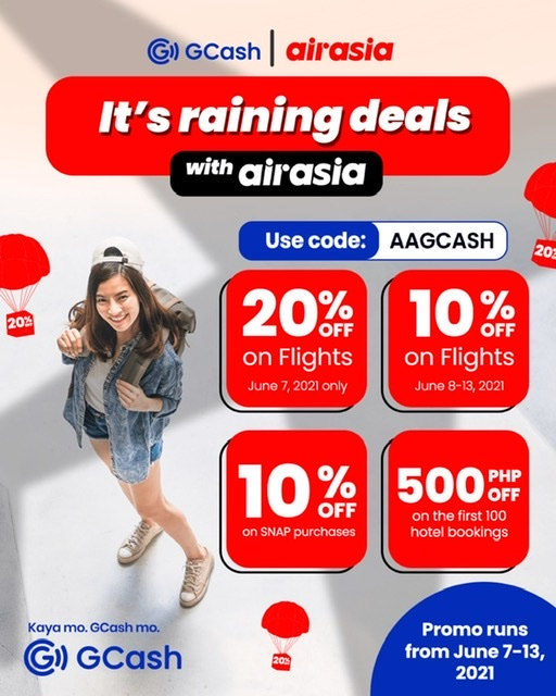 GCash and Airasia partnership lets you fly and pay safely