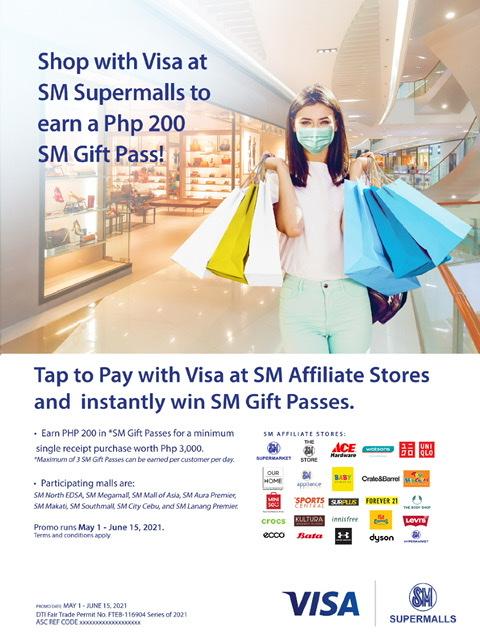 Your Visa works harder at SM Supermalls