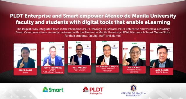 Smart,PLDT Enterprise and ADMU launch Ateneo Smart Online Store