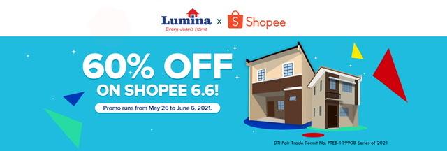 Lumina Homes wows homeseekers at Shopee 6.6 Midyear Sale