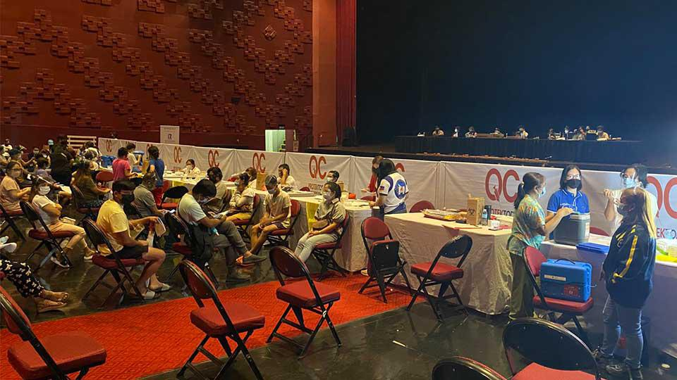 Araneta City, JAAF open New Frontier Theater as additional COVID vaccination site