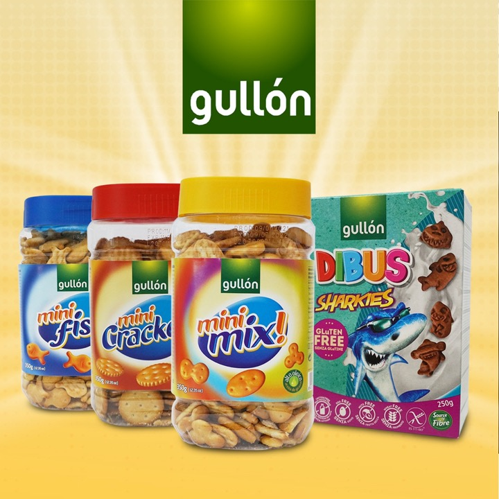 A Variety of Fun and Healthy Snacks for the Kids Gullón