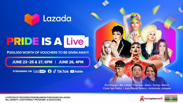 Lazada Philippines Launches #LazadaPride2021 in Partnership with LoveYourself, Inc., Artists from the LGBTQIA+ community and Award-winning Filmmaker, Pepe Diokno