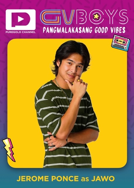 Puregold Channel's 'GVBOYS: Pangmalakasang Good Vibes' stars Jerome Ponce, Nikko Natividad, and Dave Bornea