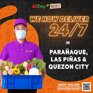 GROCERIES ON DEMAND: ALLDAY SUPERMARKET INTRODUCES 24 HR ONLINE GROCERY DELIVERY