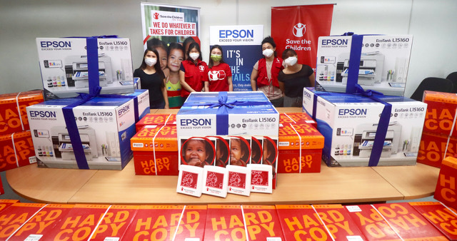 Epson partners with Save the Children to help address the challenges of learning in the new normal