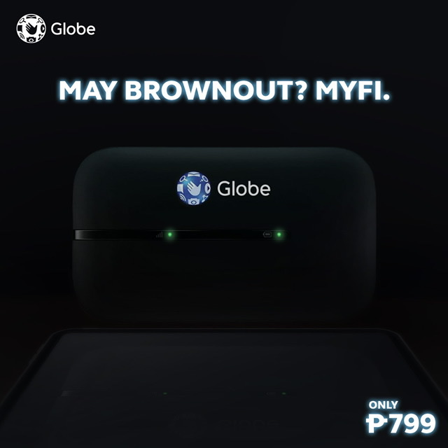 Brownout? Stay connected with Globe At Home Prepaid MyFi LTE and LTE-A