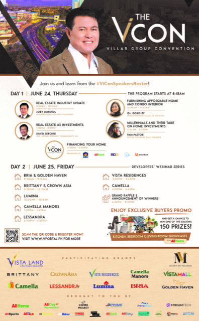 Villar Group kicks off The Vicon, Philippine's first and biggest virtual property expo