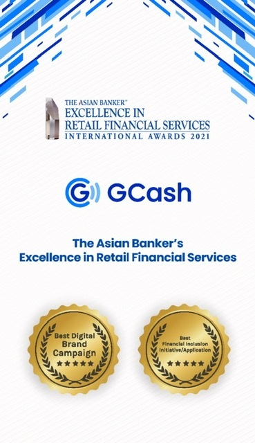 GCash sole PH e-wallet feted by The Asian Banker TAB International Awards 2021