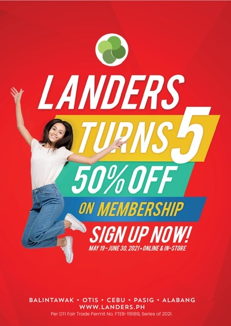 Landers Superstore celebrates its 5th anniversary with exciting activities and promos