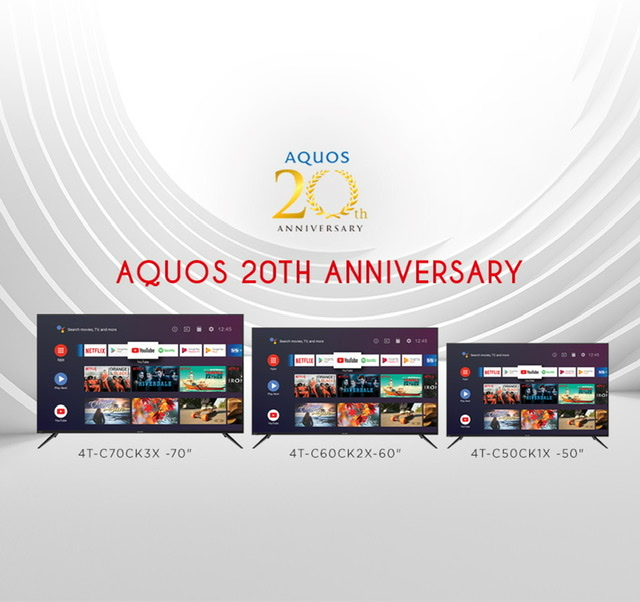 Sharp AQUOS - Two Decades of Excellence, Quality, and Innovation