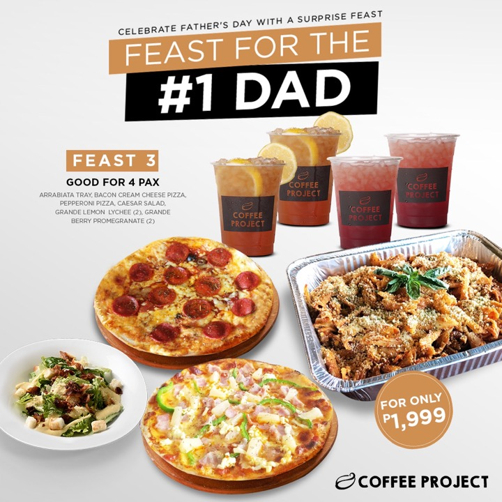 Celebrate Dad's Special Day with Coffee Project