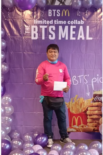 BTS ARMY Gives Back and Raises Thousands for foodpanda Rider