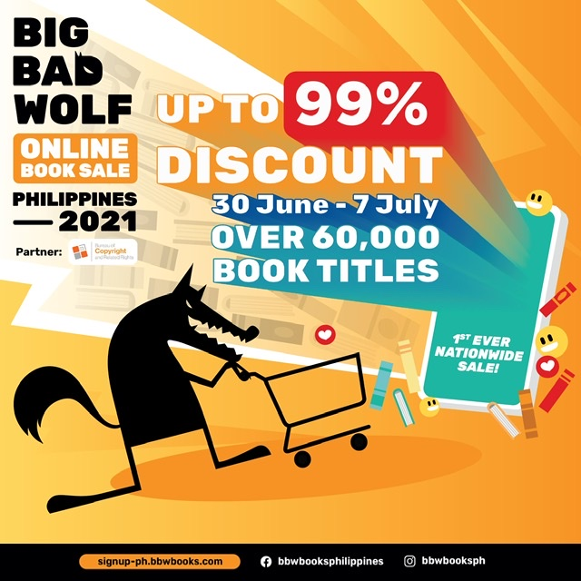 THE WORLD'S BIGGEST BOOK SALE RETURNS TO THE PHILIPPINES!