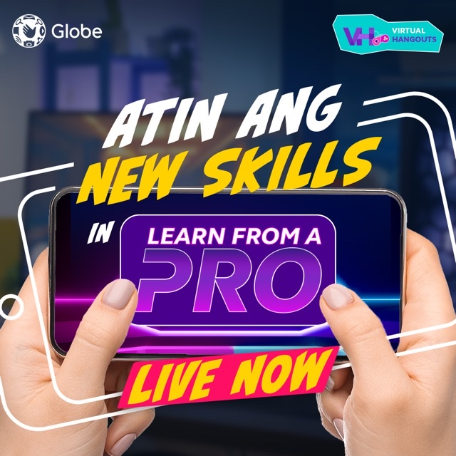 Learn from the Gaming Pros with Globe Virtual Hangouts