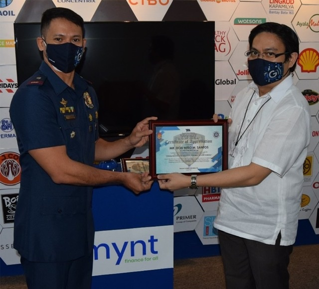 GCash only fintech company to receive recognition from PNP for Anti-Cybercrime Response