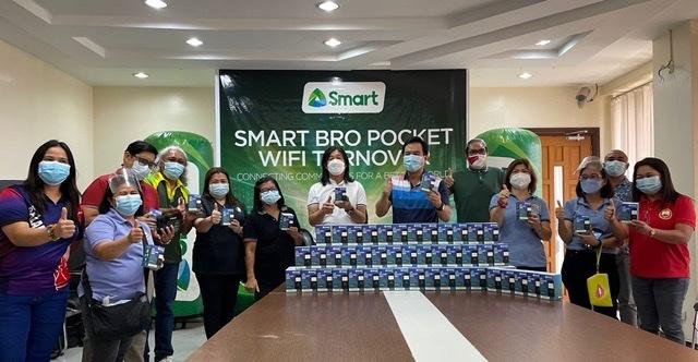 PLDT, Smart enable Calamba frontliners