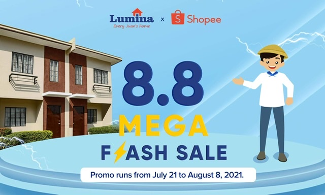 Lumina Homes begins 9th anniversary party with Shopee 8.8 Mega Flash Sale