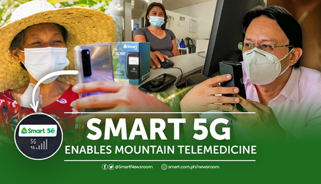 Smart's 5G site in Argao enables mountain telemedicine, bringing help and hope