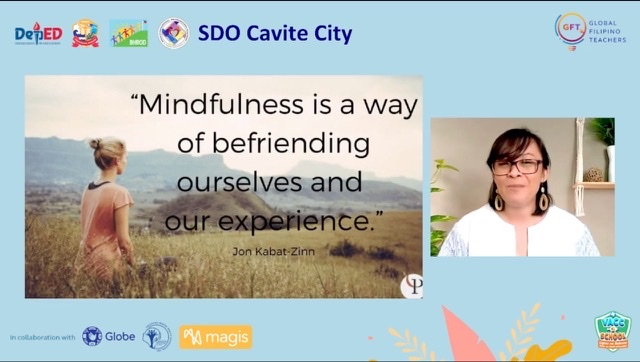 """Practicing mindfulness to combat stress using the """"SMPLE"""" method"""
