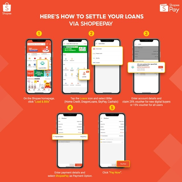 You Can Now Pay for Your Loans via ShopeePay