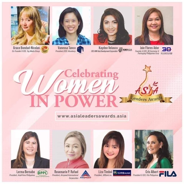 Asia Leaders Awards 2021 will Celebrate Women in Power at the Embassy of Singapore on November 11