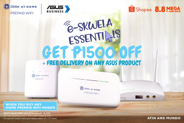 Globe at Home and ASUS: The New E-Skwela Essentials