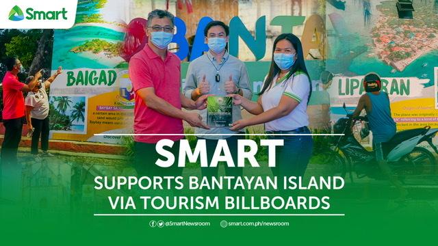 Smart supports Bantayan Island via Tourism Billboards