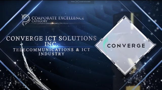 Converge bags 2 regional awards for entrepreneurial excellence