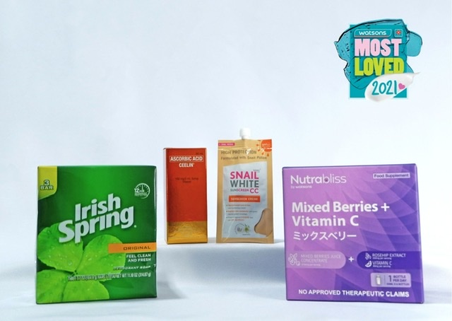 Watsons' Most Loved are the products YOU picked