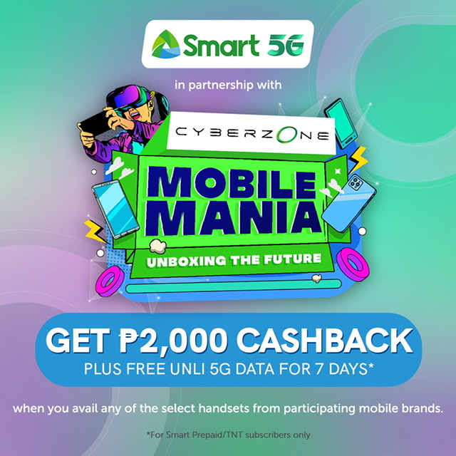 Smart offers great deals at the SM Cyberzone Mobile Mania