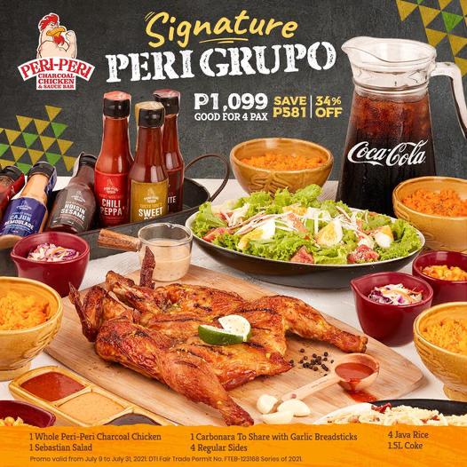 Peri-Peri's New Signature Peri Grupo Bundle Is Your New House Party Treat