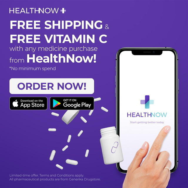 Free vitamins, same day medicine delivery from HealthNow to help keep Pinoys healthy