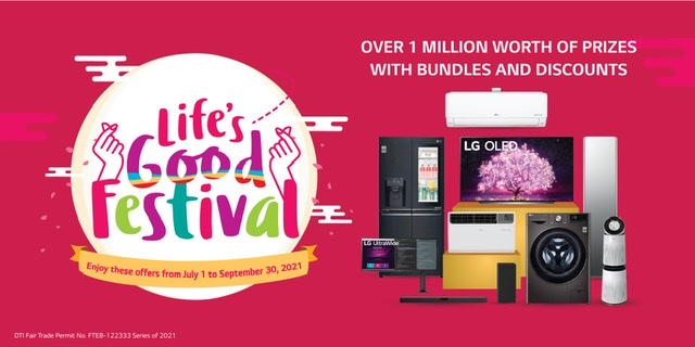 LG to give away over 1M raffle prizes in the first ever Life's Good Festival